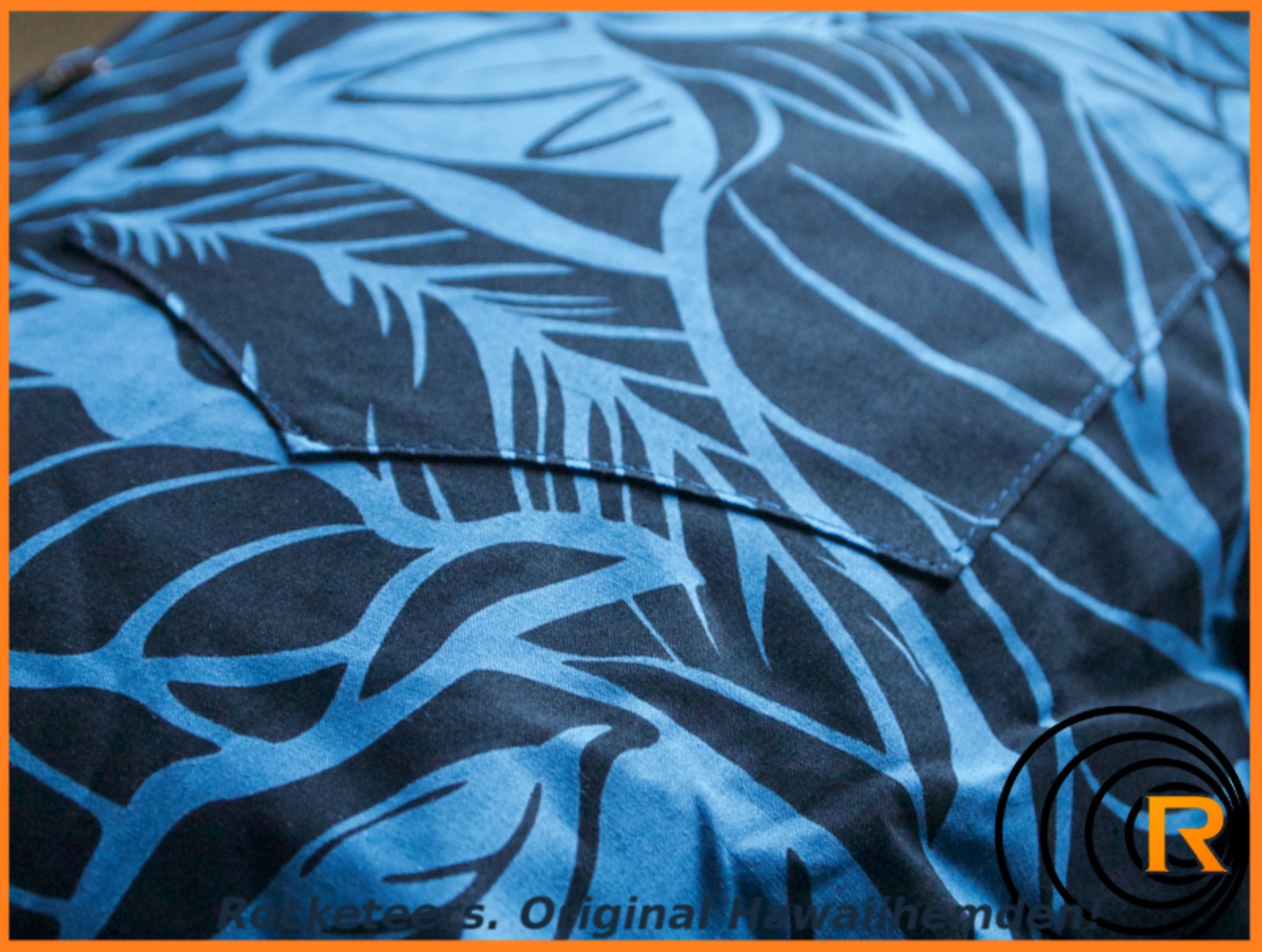 Original Hawaiihemd -Shadow of the Monstera-