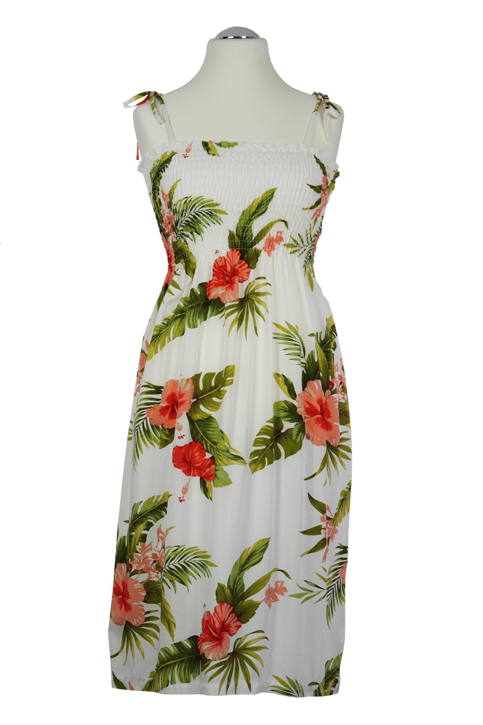 -Hibiscus Heaven- original Hawaii Tube Dress | midi