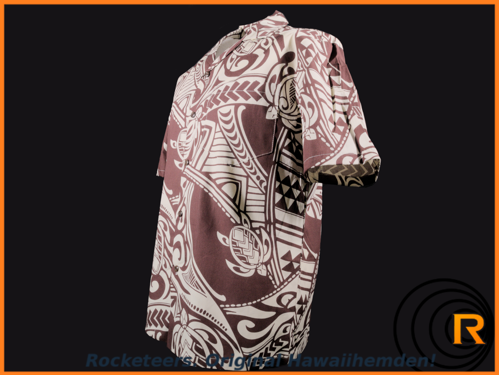 Original Hawaiihemd -Mighty Honu-