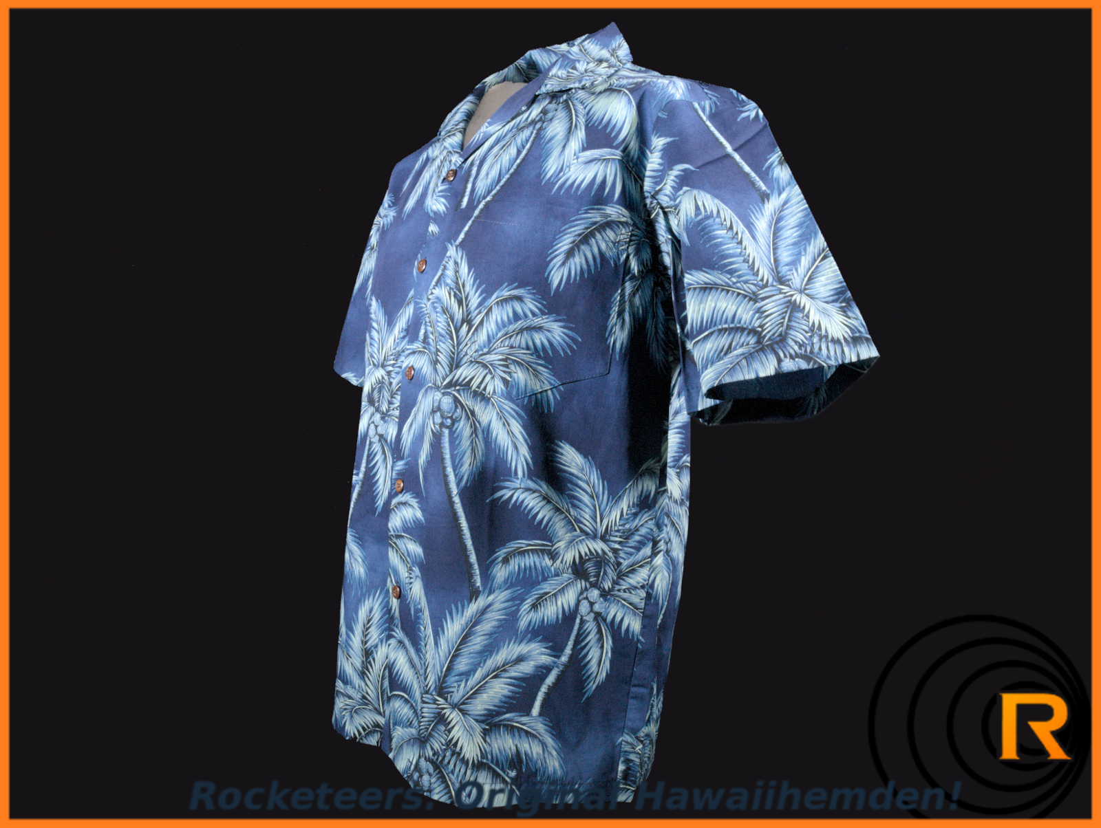 Original Hawaiihemd -Glorious Blue-