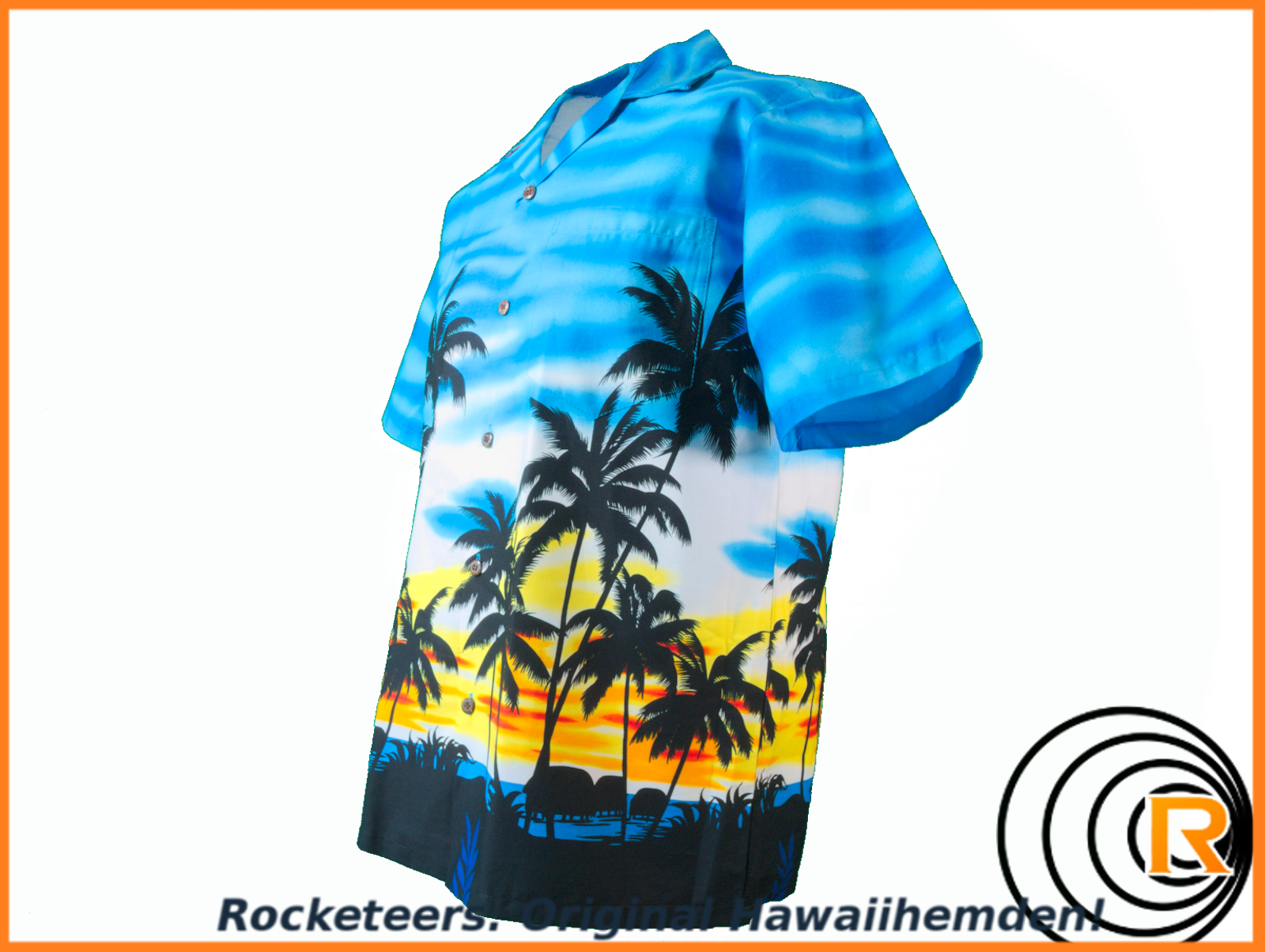 Original Hawaiihemd -Sunset&Coco-