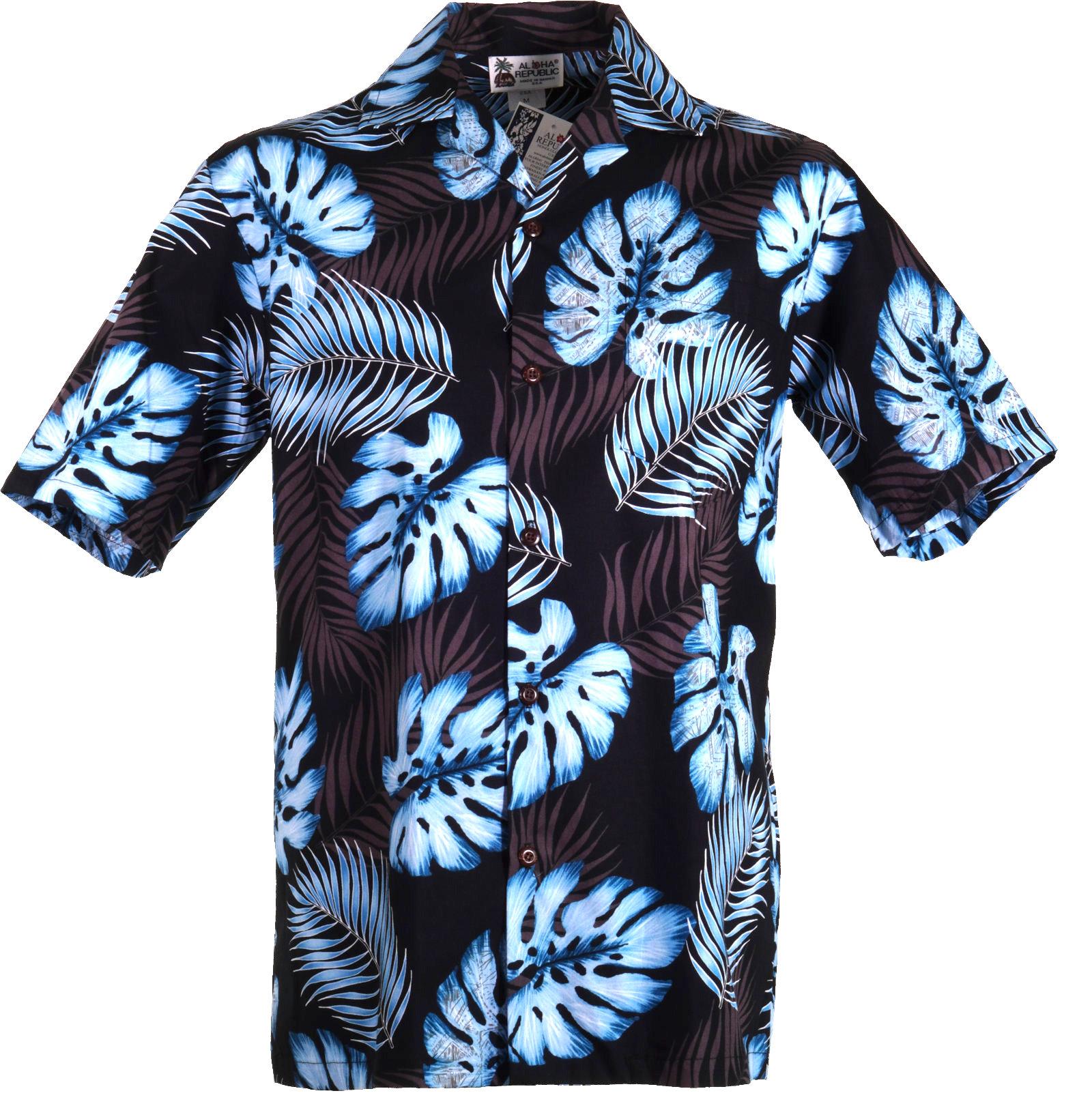 Original Hawaiihemd -Blue Moon-