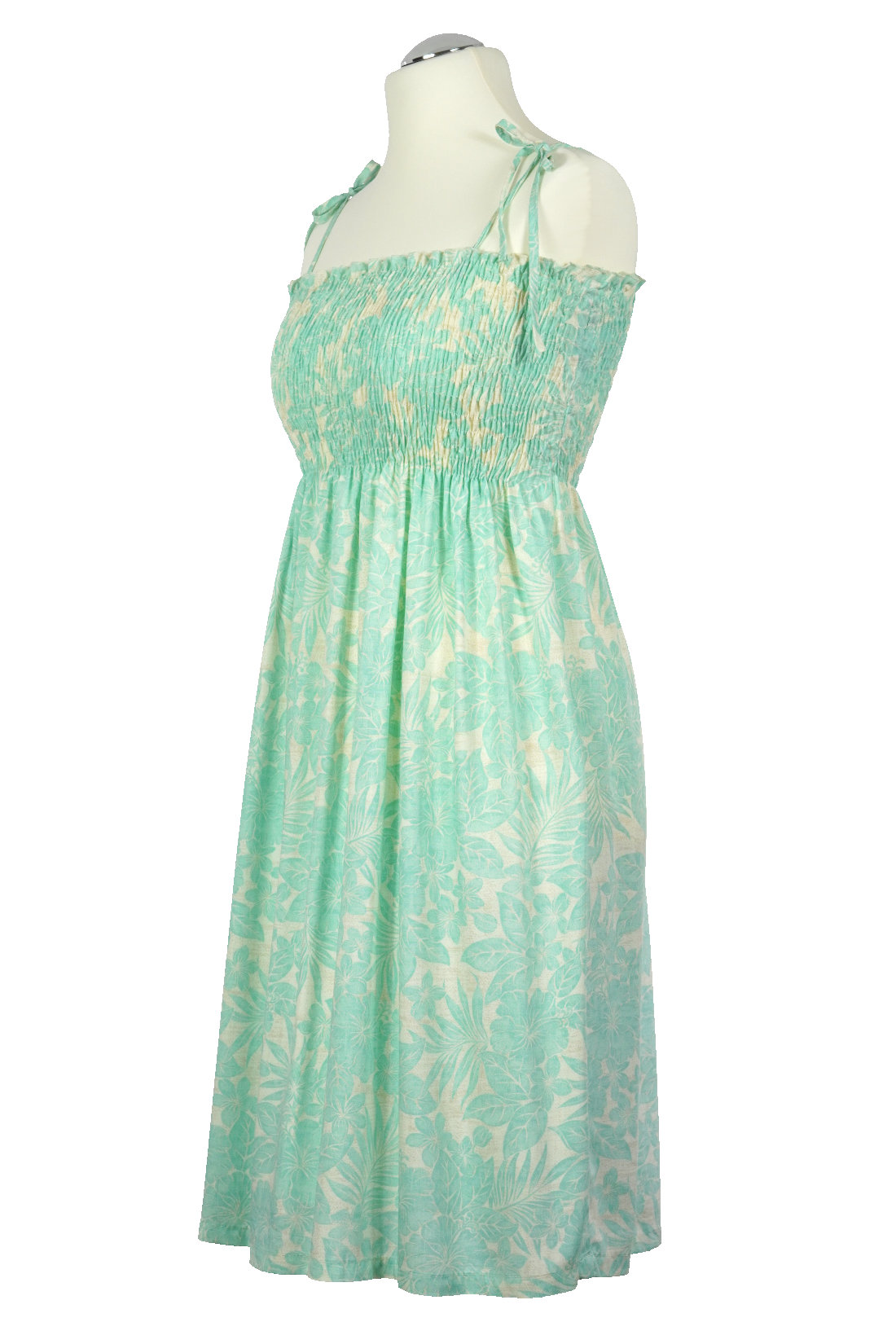 -Hidden Flower - original Hawaii Tube Dress | midi