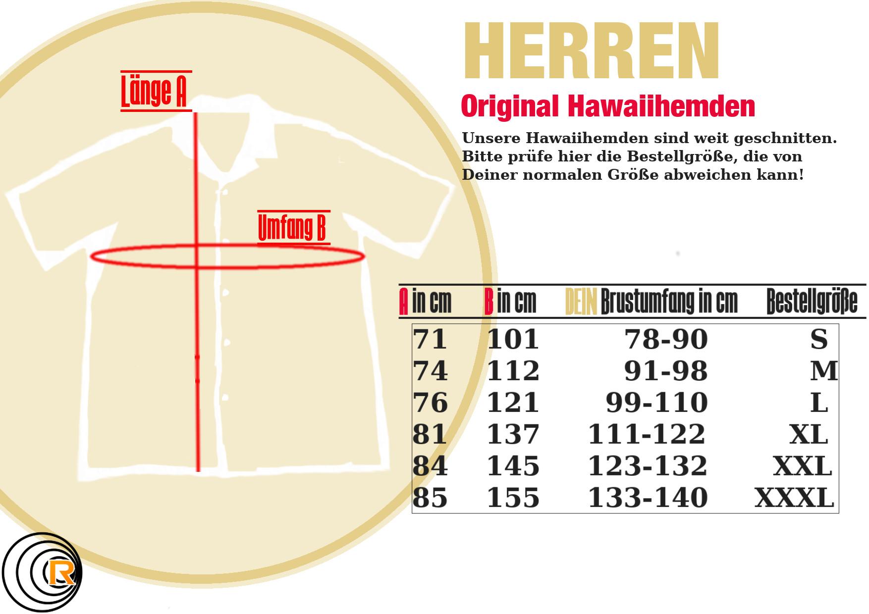 Original Hawaiihemd -The Hedge-