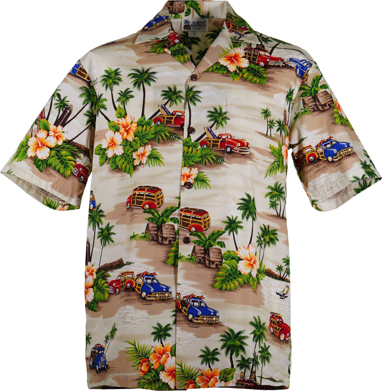Original Hawaiihemd -Woodie-