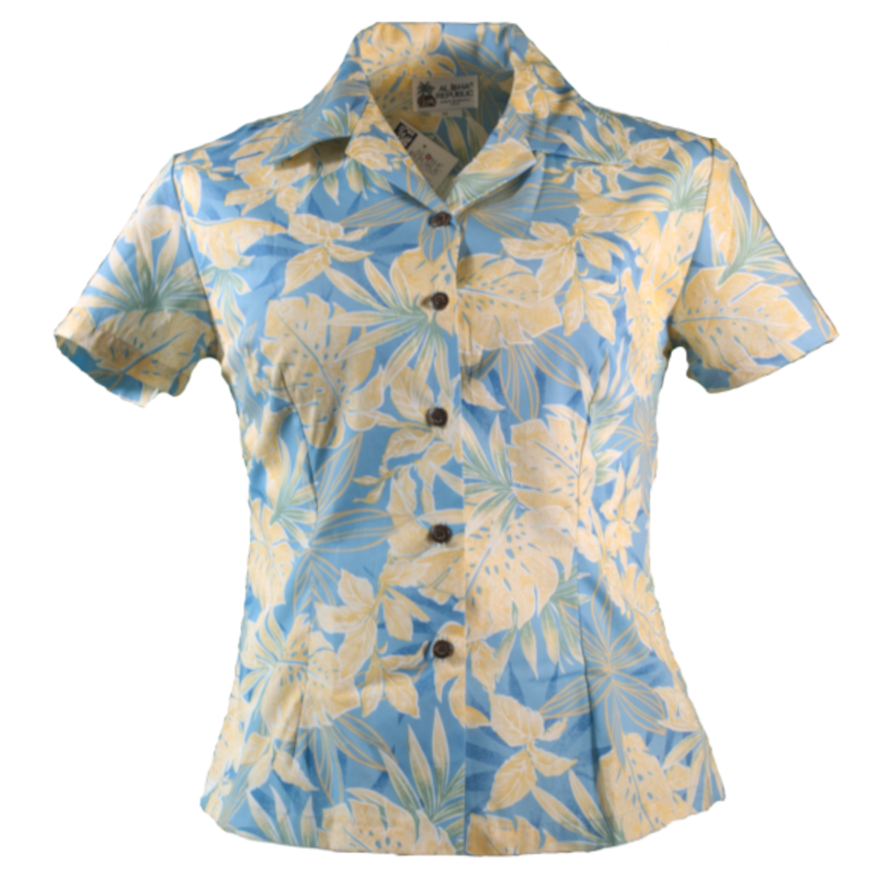 Original Hawaiihemd Ladys -Pastel Paradise-