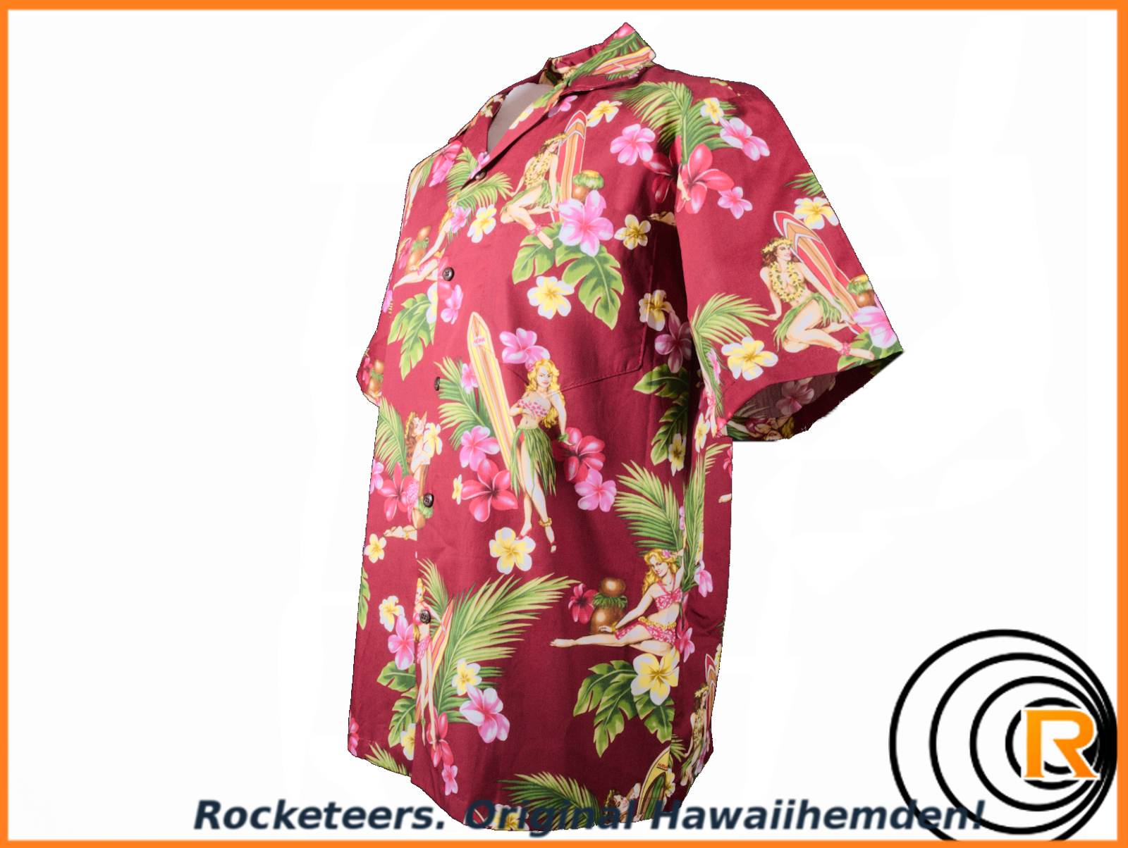 Original Hawaiihemd -Surf's UP-