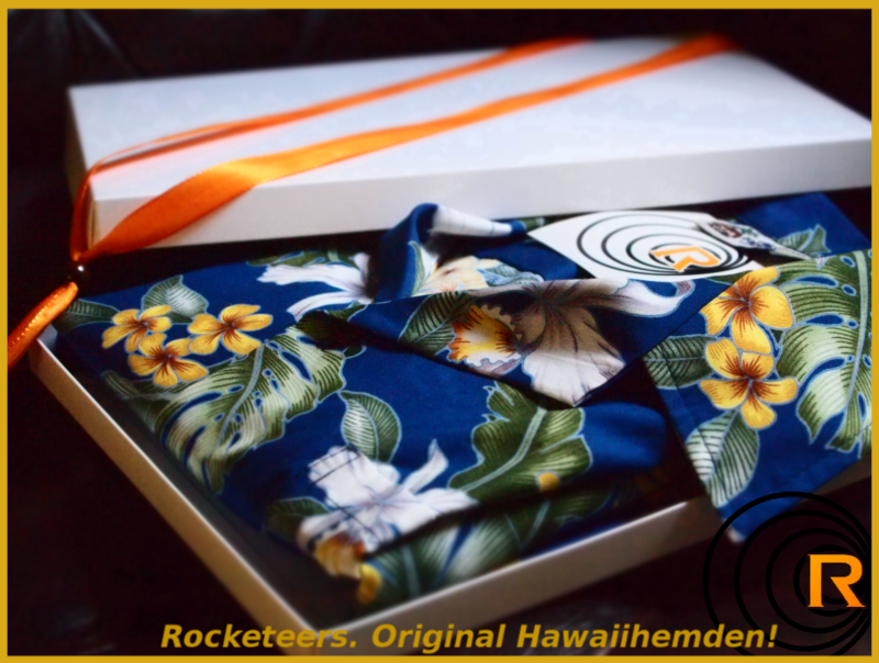 Original Hawaiihemd -Royal Garden-